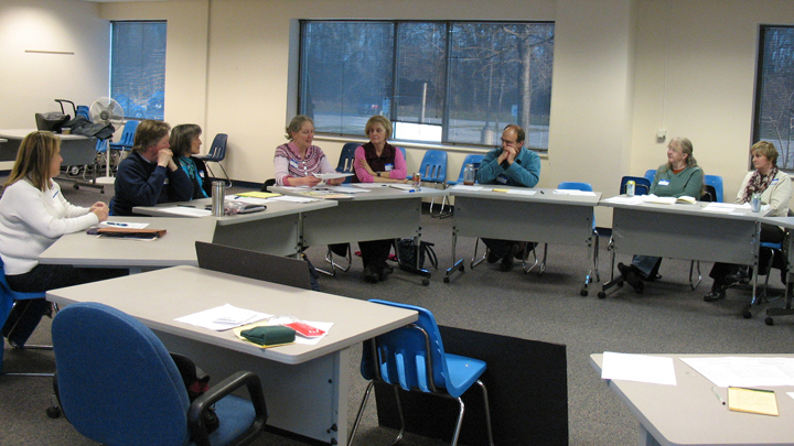 This is a picture of the Silverwood Board of Advisors meeting in 2016.